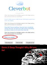 Cleverbot: Image Gallery (Sorted by Views) | Know Your Meme via Relatably.com
