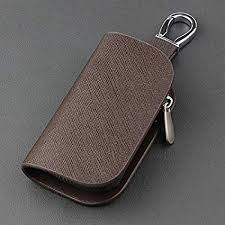 3nh <b>SNCN Leather Car Key</b> Case Cover Holder Ring for Ford Foucs ...
