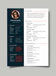 Free Creative Resume Template Vol      button white
