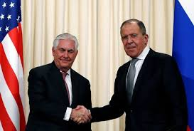 Russia's <b>Lavrov</b> meets Tillerson, says feels U.S. ready to continue ...