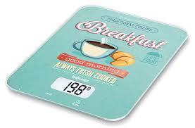 Купить <b>Весы</b> кухонные <b>BEURER KS19</b> Breakfast, рисунок в ...