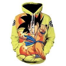 <b>Brand Dragon Ball</b> Z Hoodies Kid Goku <b>Clothing</b> Gum Cloud ...