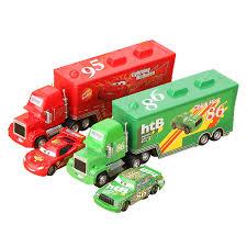 Disney Pixar <b>Cars 3 2Pcs</b>/Set Lightning McQueen Truck Uncle Mack ...