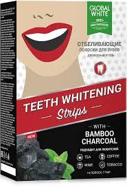 <b>GLOBAL</b> WHITE <b>Полоски для отбеливания</b> зубов 7 дней ...