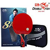<b>Double Fish</b> 7 Star I <b>Professional</b> 1 Table Tennis Racket and 1 Case ...