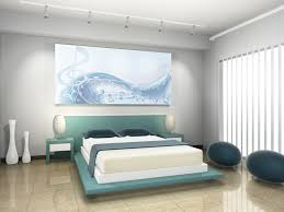 modern black white bedroom decorating ideas with lovely wallpaper amazing design floating wooden platform beds in awesome black white wood modern design amazing