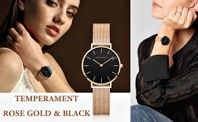 Women's Rose Gold Watch Analog Quartz Stainless ... - Amazon.com