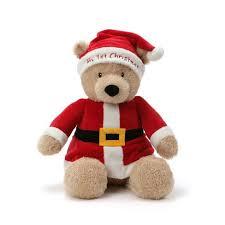 "G By Gund 14"" My First Christmas Bear : Target"