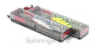 <b>Воблер Rapala Deep Tail</b> Dancer 09 FT, арт. TDD09-FT – купить ...