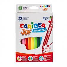<b>Фломастеры CARIOCA JOY</b> 12 цветов: купить по низкой цене ...