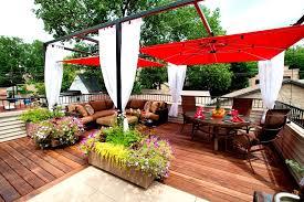 patio umbrella spaces modern