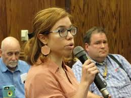 red bank green serving red bank and greater red bank nj monica urena speaks to the borough council wednesday night