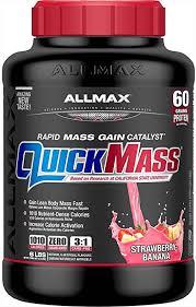 ALLMAX Nutrition - <b>QUICKMASS</b> - <b>Weight Gainer</b> & <b>Rapid Gain</b> ...