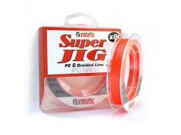 <b>Леска Fanatik Super</b> Jig PE X8 ( 1 0) 0 16mm 120m Orange ...