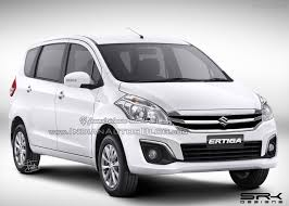 new car launches in early 20152016 Maruti Ertiga facelift caught testing ahead of launch