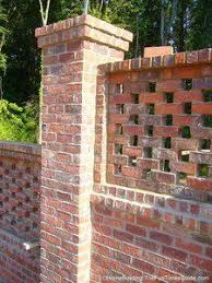Small Picture Red brick crinkle crankle or serpentine wall at Easton Suffolk