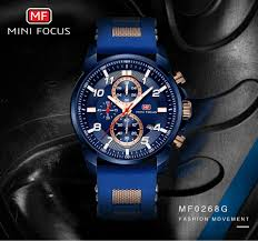 <b>MINI FOCUS</b> Gold Fashion Sports <b>Watch Men</b> Luxury Brand <b>Analog</b> ...