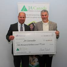 citifinancial renews ja partnership contribution image caption from left right scott wood president and ceo citifinancial and scott hillier ceo and president ja cnw group citifinancial
