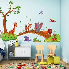 China <b>Lovely Animal Cartoon</b> Wall Sticker <b>Kids</b> Room Decortion ...