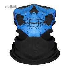 mtdbpk Festival <b>Skull Masks Skeleton Bicycle Ski Skull</b> Half Face ...