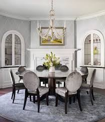 dining table interior design kitchen: janie petkus interior design dining room traditional with round dining table top standard height dining tables