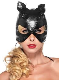 Fake <b>Leather Cat Mask</b> - maskworld.com