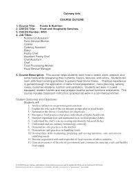 resume samples culinary arts cipanewsletter arts resume doc mittnastaliv tk