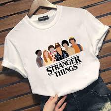 <b>2019 New</b> Fashion Women Stranger Things <b>T</b>-<b>Shirt</b> Friends <b>Printed</b> ...