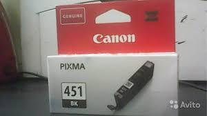 <b>Canon картридж CLI</b>-451Bk (<b>black</b>) (6523B001) новый купить в ...