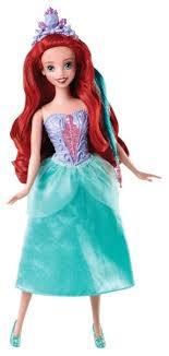 <b>Кукла Mattel</b> Disney Princess Модные <b>прически</b> Ариэль, 28 см ...
