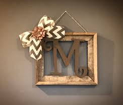 paris distress sign wall decor barnwood rustic home decor frame with initial rustic home decor rustic