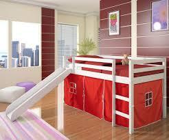 white furniture cool bunk beds: boys white low loft castle loft bed kids playhouse bed boys low loft bunk bed childrens