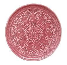 <b>Тарелка закусочная</b> (тём.розовый) <b>Abitare</b> без инд.упаковки - BY ...