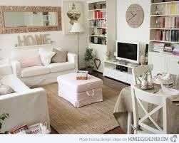white shabby chic living rooms chic living room