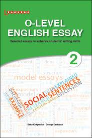 olevel english essay sec   scholastic asia