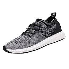Amazon.com: <b>2019 Casual Shoes Men</b> Flat Sneakers Breathable ...
