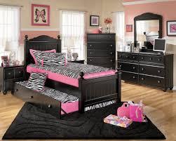 wondrous children bedroom idea with black bed frame with zebra bed sheet black dressing table and black drawer chest lovable children bedroom ideas black bedroom furniture girls design inspiration