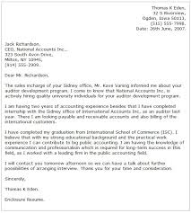 accounting cover letter examplesaccounting cover letters  cover letter example