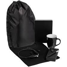 <b>Набор Welcome Kit</b>, <b>черный</b>, размер XL оптом под логотип