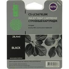 <b>Картридж</b> Cactus CS-<b>LC567XLBK</b> Black для <b>Brother</b> MFC-J2310 ...