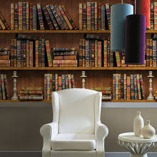 <b>Mural Wallpaper 3d</b> Bookshelves reviews – Online shopping and ...
