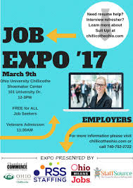upcoming events south central ohio job bank 28th annual employment expo 3 9 17