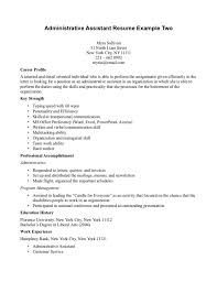 executive administrative assistant resume sample resume examples office manager resume example free office administration resume samples office administration sample resume