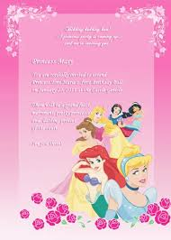 disney princess birthday invitation templates com disney princess birthday invitation templates