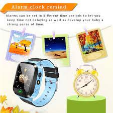 OCDAY Kids Wristwatch Touch Screen GPRS Locator Tracker <b>Anti</b> ...