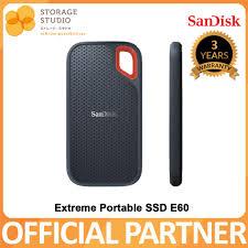 <b>SanDisk</b> Extreme Portable SSD <b>E60</b> 2TB/1TB/500GB/250GB, USB ...