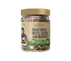 Super Healthy Mixed <b>Nuts</b>, Seeds and Berries - <b>Organic</b> Trail Mix ...