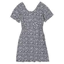 <b>Платье струящееся</b>, с короткими рукавами, с принтом, 10-18 лет ...