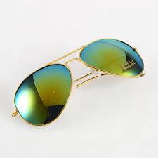 Aviator <b>Sunglasses</b> With Reflective Lenses | La Confédération ...