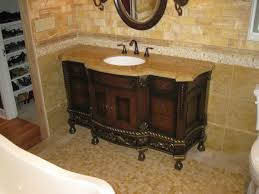 ideas custom bathroom vanity tops inspiring: decoration ideas extraordinary design ideas using rectangular brown wooden vanity cabinets and brown granite countertops